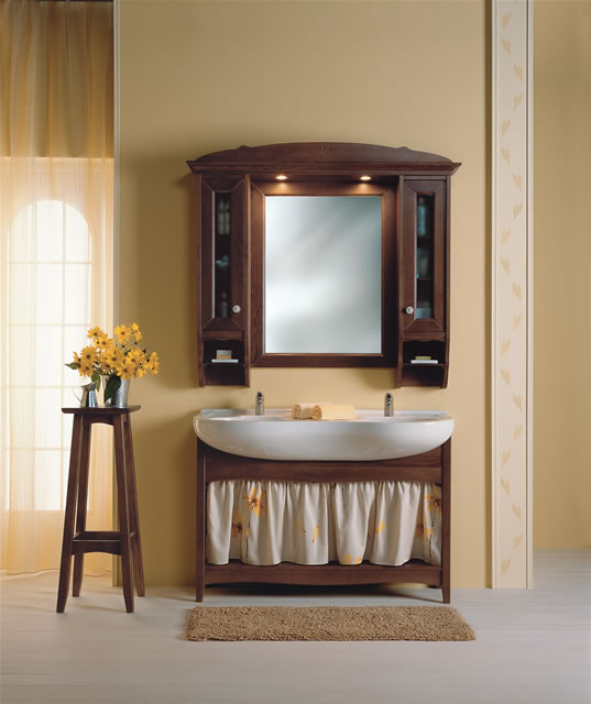 Bagno country arredamento country for Arredamento stile country