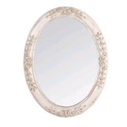 Specchi country arredamento country - Specchio ovale bagno ...